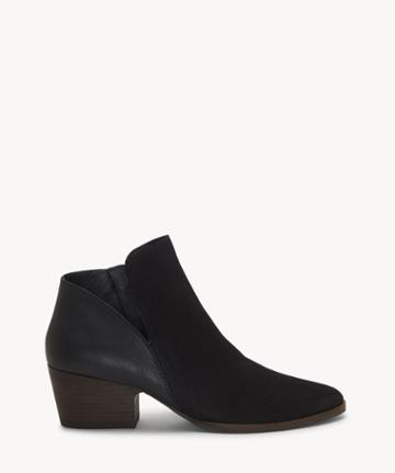 Lucky Brand Lucky Brand Women's Iceress Ankle Bootie Black Size 5 Leather From Sole Society