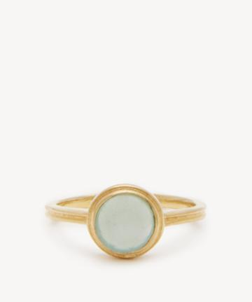 Sole Society Women's Buttercup Ring Chalcedony One Size From Sole Society