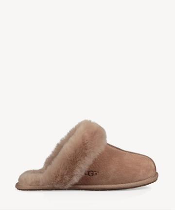 Ugg Ugg ® Women's Scuff Braceletette Ii Suede Sheepskin Slippers Fawn Size 6 From Sole Society