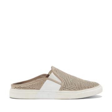 Vince Camuto Vince Camuto Bretta Perforated Mule Sneaker - Safari/picke-5