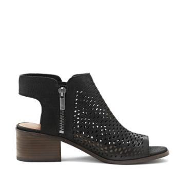 Lucky Brand Lucky Brand Nelwyna Cut Out Peep Toe Sandal - Black-6
