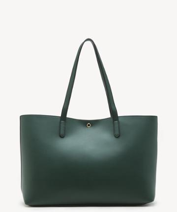 Sole Society Women's Zeda Tote Vegan Woodland Green Vegan Leather From Sole Society
