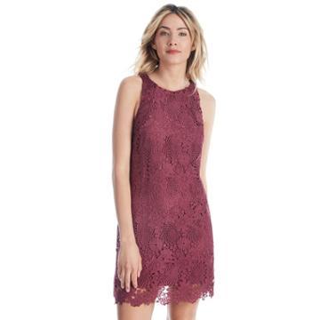 Wayf Wayf Randy Lace Mini Dress - Renaissance Rose-x-small
