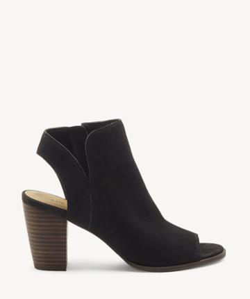 Lucky Brand Lucky Brand Women's Jubai Peep Toe Sandals Black Size 5 Leather From Sole Society