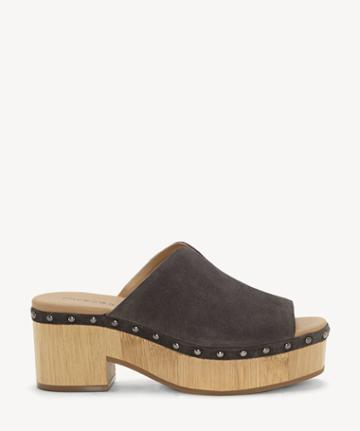 Lucky Brand Lucky Brand Women's Simbrenna Platform Sandals Periscope Size 5 Suede From Sole Society