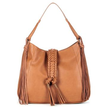 Sole Society Sole Society Vale Braided Tote W/ Tassel - Cognac-one Size
