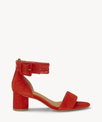 Cc Corso Como Cc Corso Como Women's Louisah Ankle Strap Sandals Fire Size 5 Suede From Sole Society