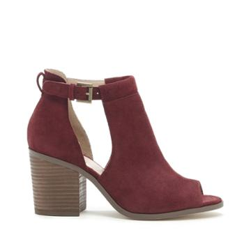Sole Society Sole Society Ferris Block Heel Sandal - Rumba Red-5