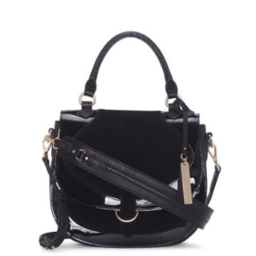 Vince Camuto Vince Camuto Haven Flap Satchel Bag Black From Sole Society