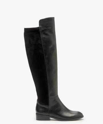 Sole Society Women's Calypso Tall Boots Black Size 5 Suede From Sole Society