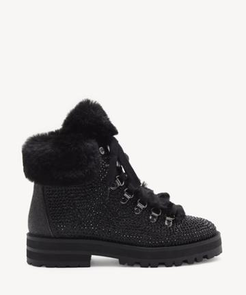 Jessica Simpson Jessica Simpson Women's Norina In Color: Black Shoes Size 5 Fine Glitter From Sole Society