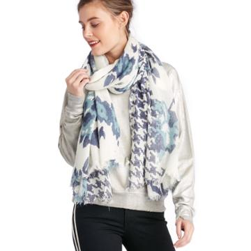 Sole Society Sole Society Ornate Printed Scarf - Multi