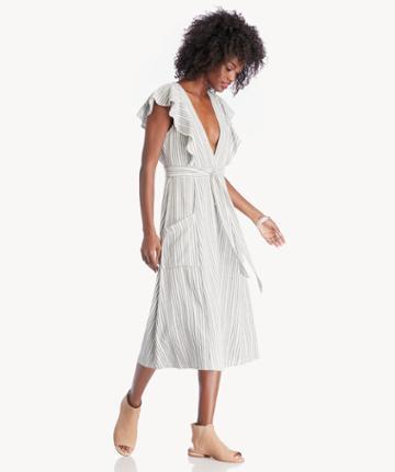 Lost + Wander Lost + Wander Kika Tie Midi Dress