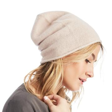 Sole Society Sole Society Lightweight Wool Beanie - Natural