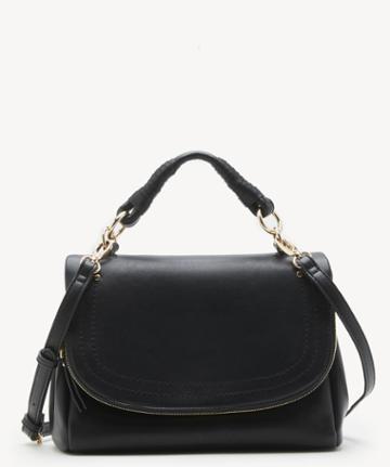 Sole Society Women's Rubie Crossbody Vegan Bag Black Vegan Leather From Sole Society