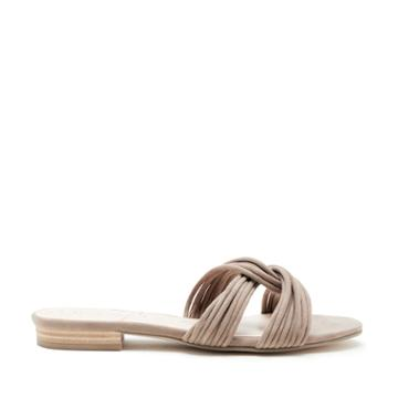 Sole Society Sole Society Dahlia Knotted Flat Sandal - Taupe-5