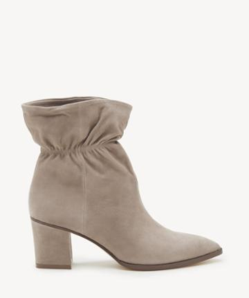 Sole Society Women's Demetria Paperbag Bootie Fall Taupe Leather From Sole Society