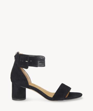 Cc Corso Como Cc Corso Como Women's Louisah Ankle Strap Sandals Black Size 5 Suede From Sole Society