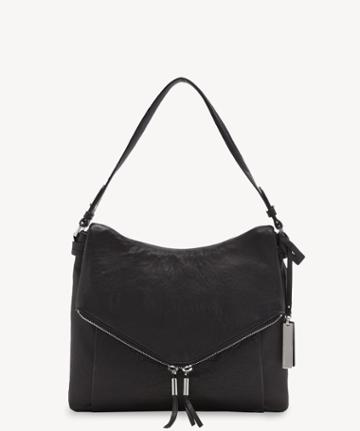 Vince Camuto Vince Camuto Alder Hobo Bag Nero From Sole Society