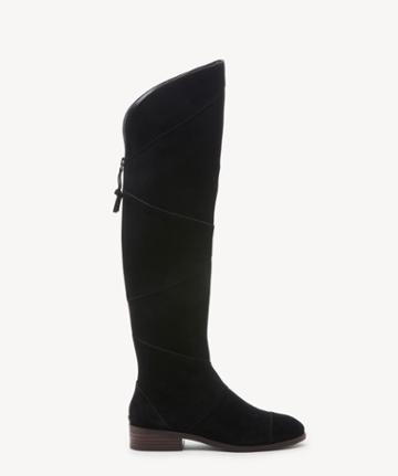 Sole Society Women's Tiff Otk Boots Black Size 5 Suede From Sole Society