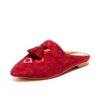 Soludos Palazzo Mule In Wine