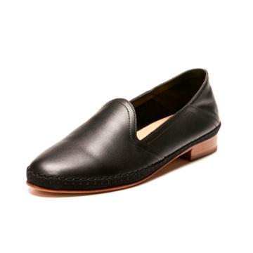 Soludos Venetian Loafer In Black