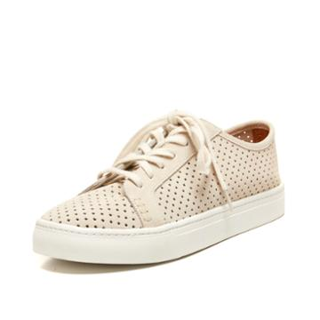 Soludos Perforated Tennis Sneaker Soludos In Seashell