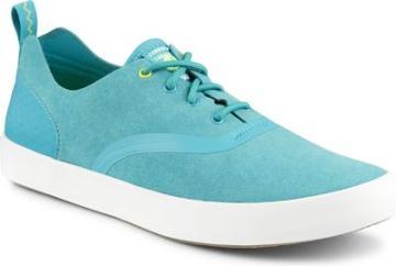 Sperry Flex Deck Cvo Microfiber Sneaker Turquoise, Size 7.5m