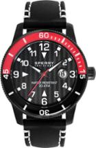 Sperry Silicone Diver Watch Black/red, Size One Size Men's