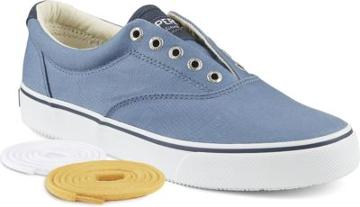 Sperry Striper Ll Cvo Saturated Sneaker Slateblue, Size 7m Men's Shoes