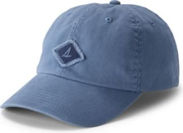 Sperry Canvas Burgee Hat Blue, Size One Size