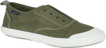 Sperry Paul Sperry Sayel Clew Washed Canvas Sneaker Olive, Size 5m Women's Shoes