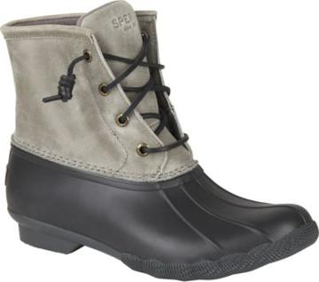 Sperry Saltwater Duck Boot Beige/black, Size 5m Women's Shoes