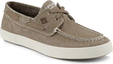 Sperry Wahoo 2-eye Sneaker Chocolate, Size 7.5m