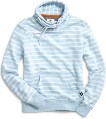 Sperry Crossover Sweatshirt Blue/white, Size S Women's