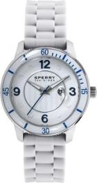Sperry Silicone Strap Link Watch White, Size One Size Women's