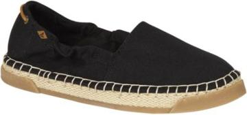 Sperry Laurel Reef Espadrille Black, Size 5m Women's