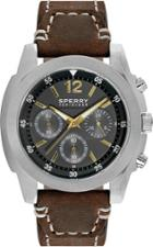 Sperry Leather Pilot Watch Brownleather/brown, Size One Size Men's