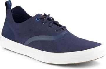 Sperry Flex Deck Cvo Microfiber Sneaker Navy, Size 7.5m