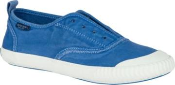Sperry Paul Sperry Sayel Clew Washed Canvas Sneaker Cobalt, Size 5m Women's Shoes