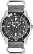Sperry Sharktooth Nylon Watch Gray, Size One Size Men's
