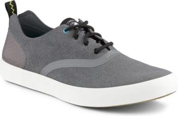 Sperry Flex Deck Cvo Microfiber Sneaker Grey, Size 7.5m