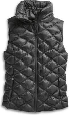 Sperry Puffer Vest Black, Size Xs