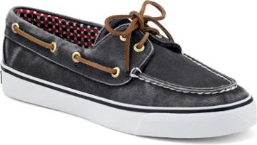 Sperry Bahama Canvas 2-eye Sneaker Navycanvas, Size 5.5m Women's