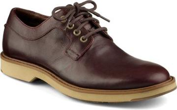 Sperry Commander Plain Toe Oxford Oxblood, Size 7m Men's