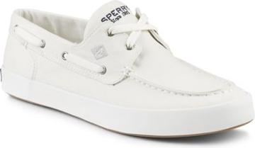 Sperry Wahoo 2-eye Sneaker White, Size 7.5m