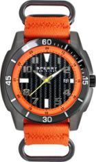 Sperry Sharktooth Nylon Watch Orange, Size One Size Men's