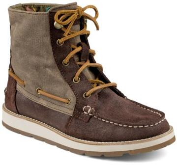 Sperry Peak Blvd Boot Brown/greige, Size 5.5m Women's Shoes
