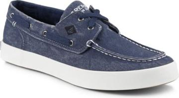 Sperry Wahoo 2-eye Sneaker Navy, Size 7.5m