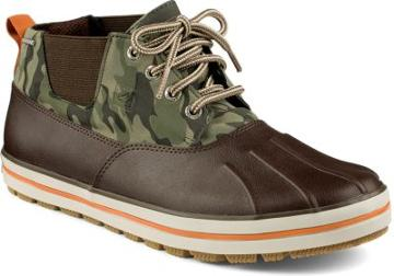 Sperry Fowl Weather Chukka Boot Brown/camo, Size 7m Men's